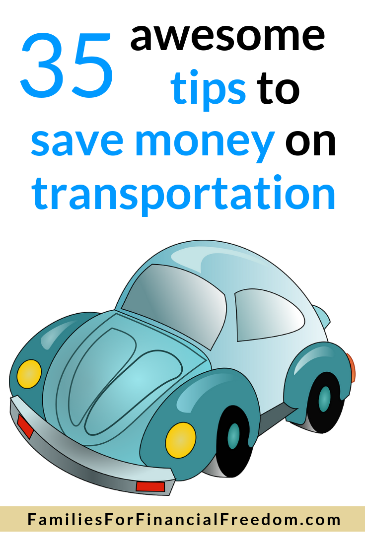 save money on transportation costs