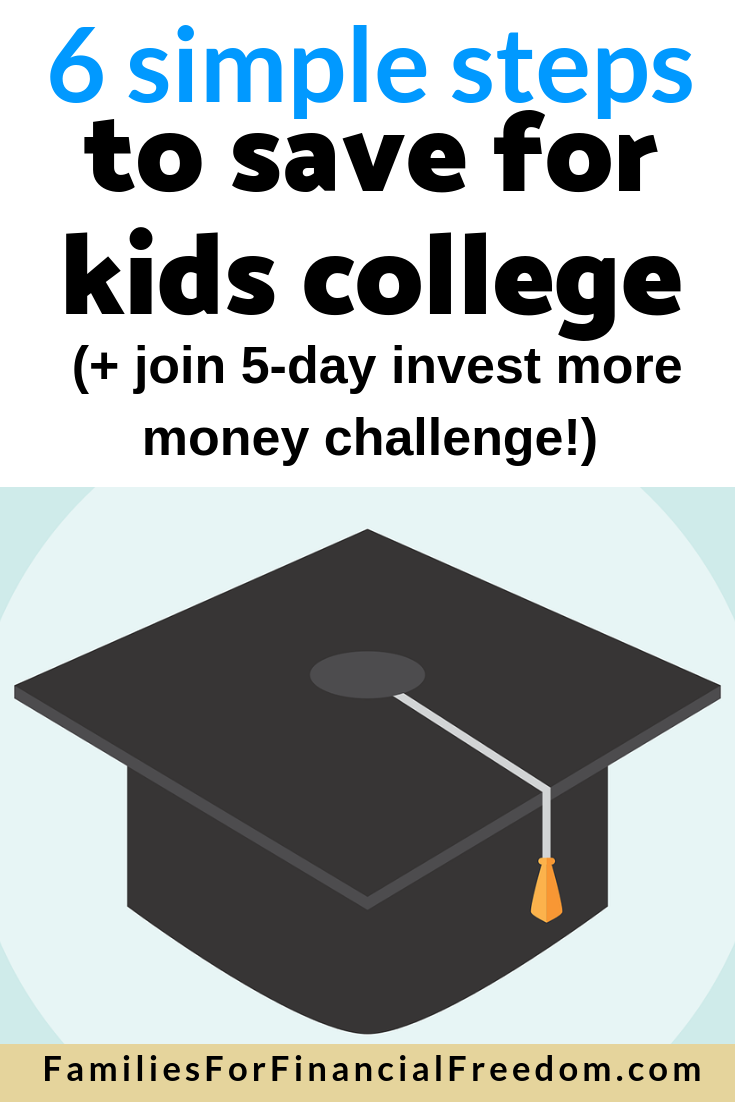 how to save for kids college