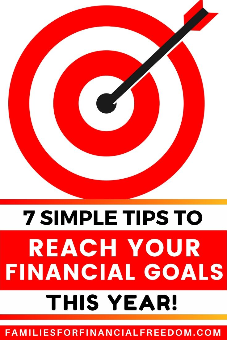 steps to achieve financial goals