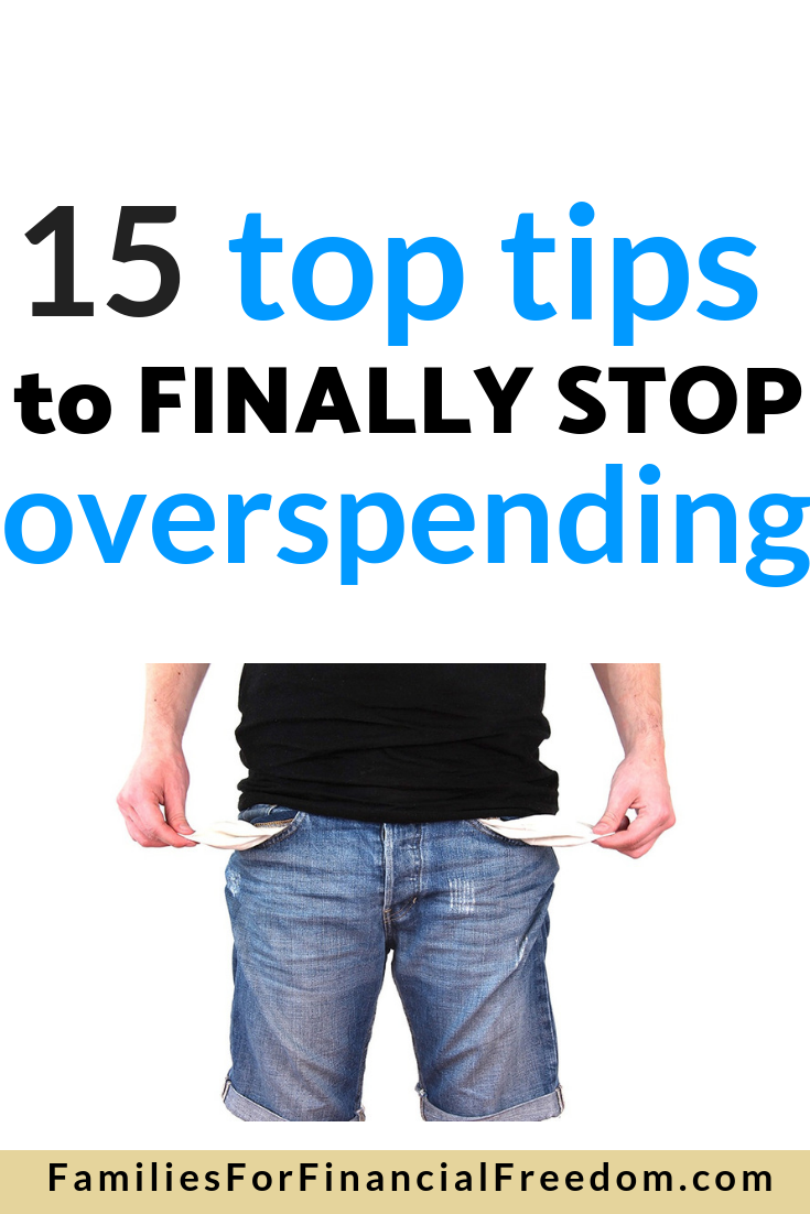 learn how to stop overspending