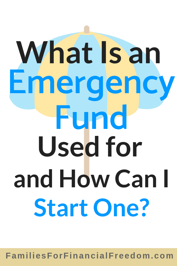 what is an emergency fund used for