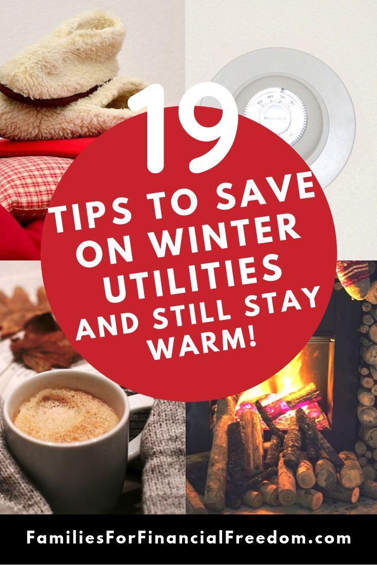 winter energy saving tips save money on winter utilities