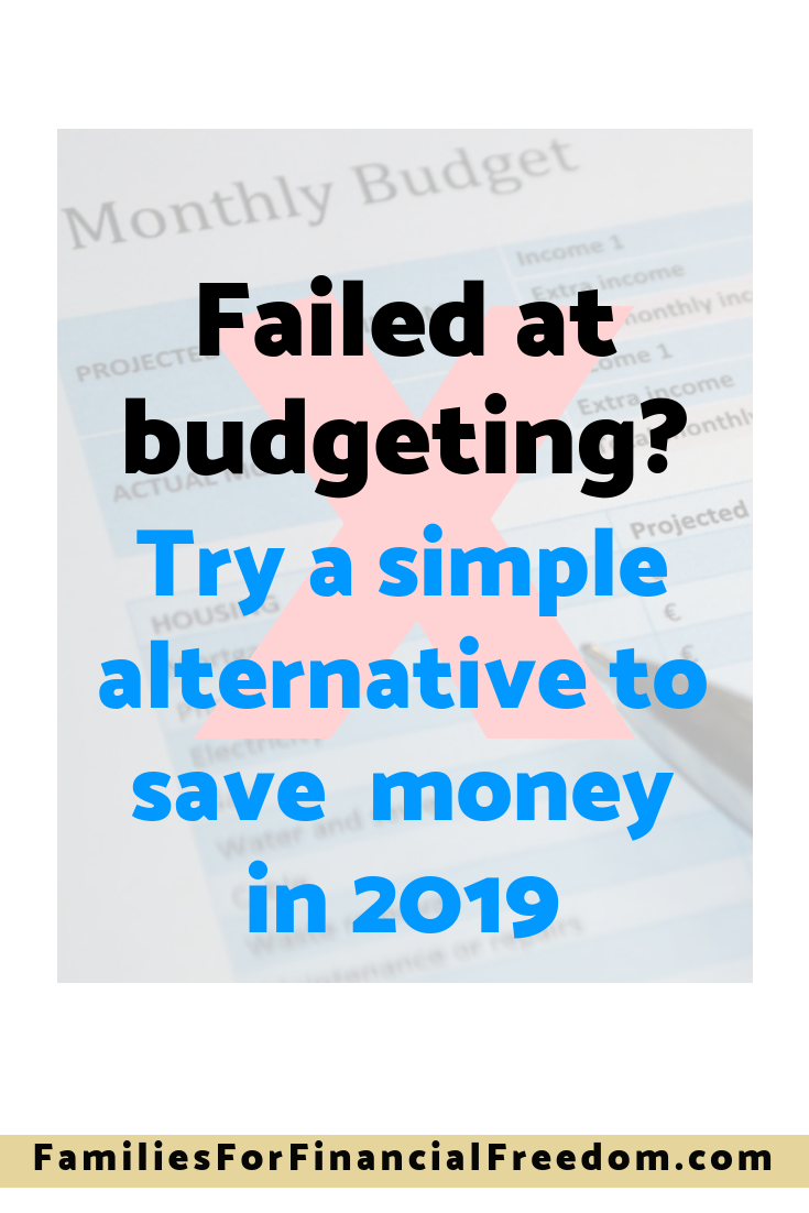 Failed at budgeting? Try this simple budgeting alternative