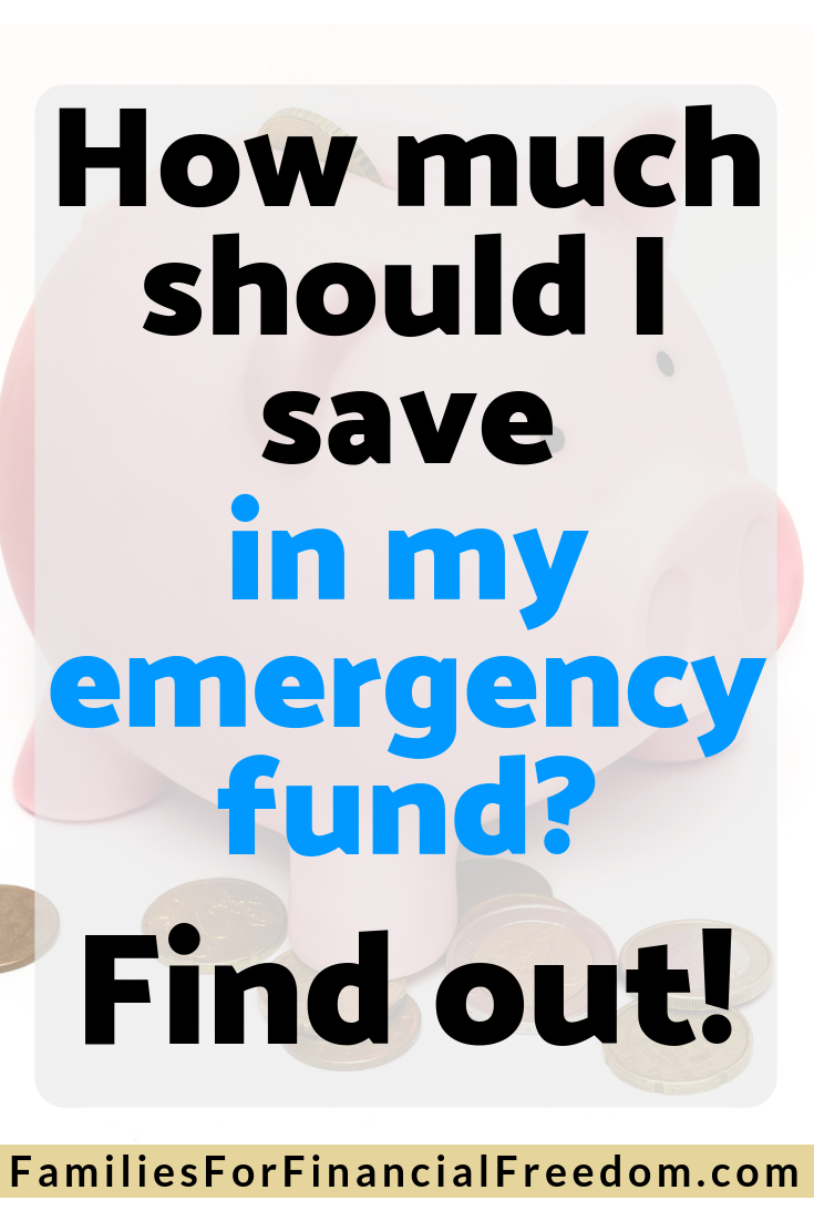 recommended emergency fund