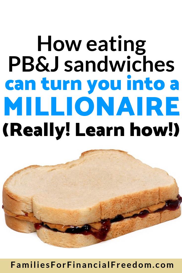 save money on lunch to become a millionaire