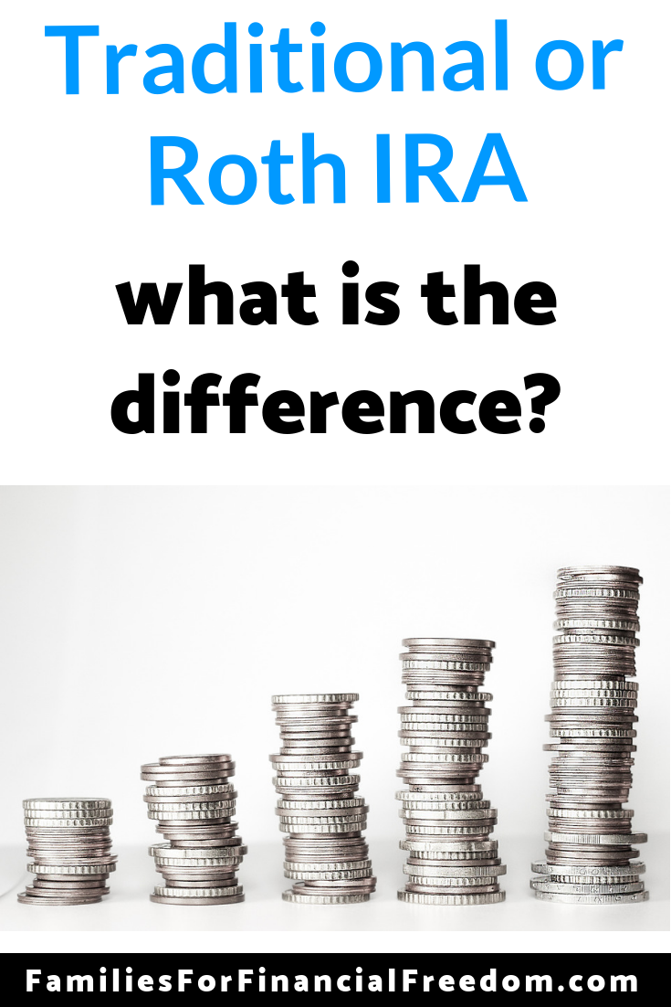 traditional versus Roth IRA