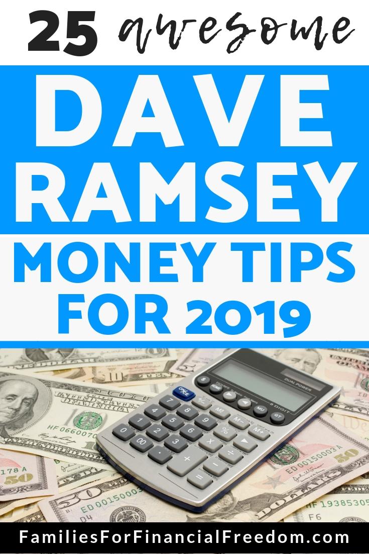 Dave Ramsey tips