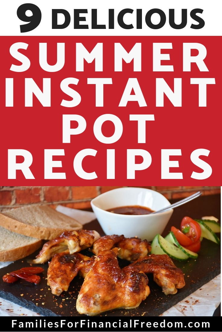 summer Instant Pot recipes