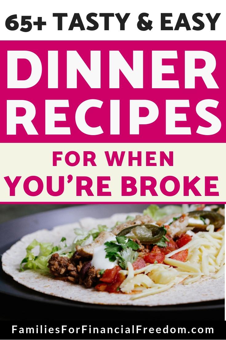 cheap dinners