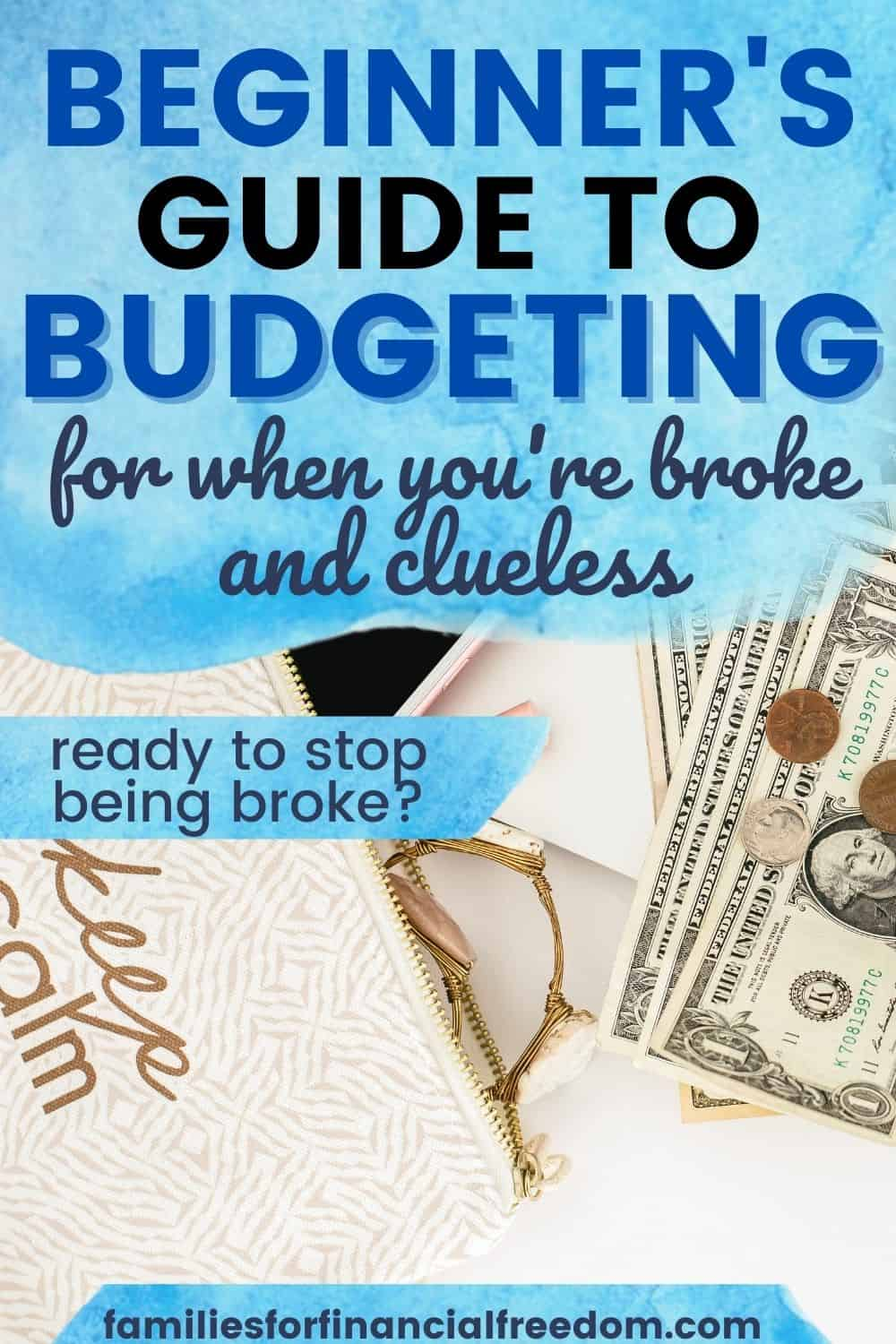 beginner's guide to budgeting how to budget