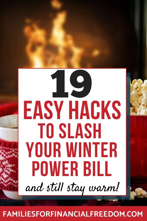 winter energy saving tips save money on winter utilities