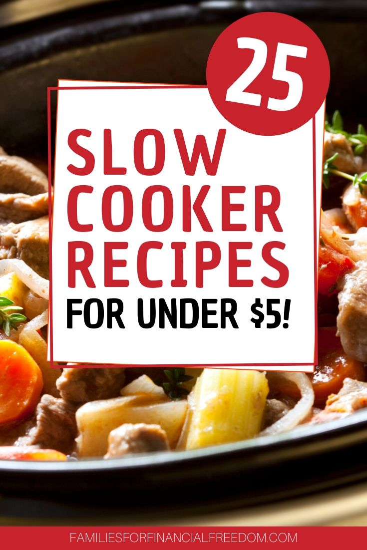 cheap easy slow cooker meals