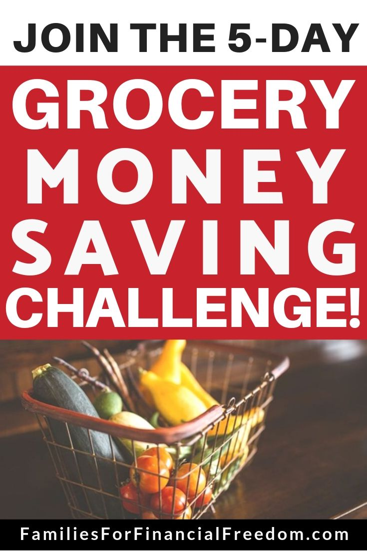 grocery money saving challenge