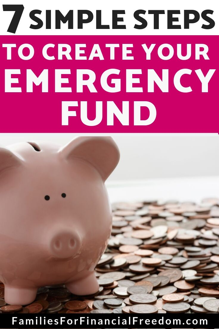 how to create an emergency fund