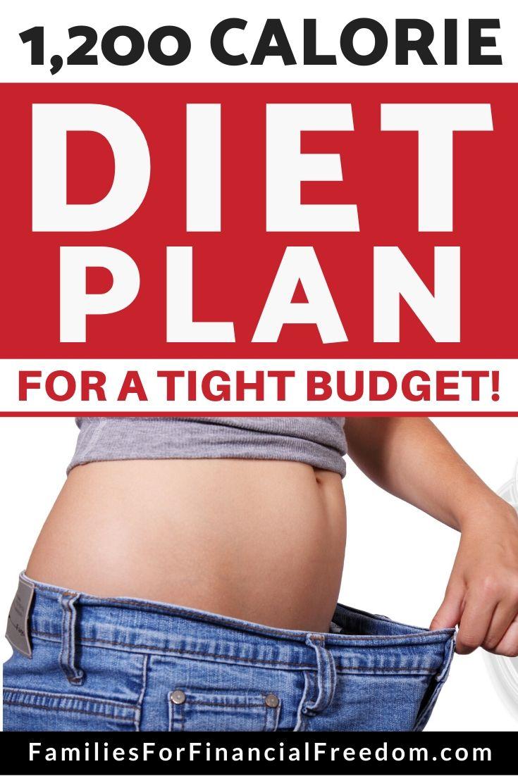 cheap 1,200 calorie diet plan