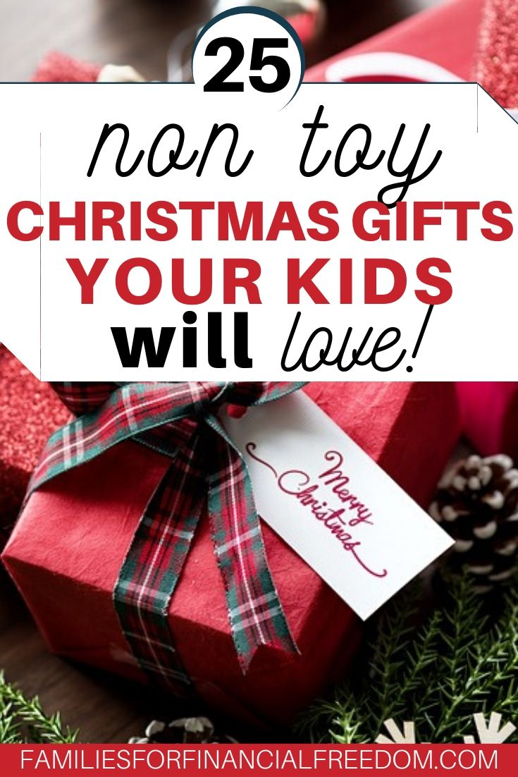 non toy Christmas gift ideas