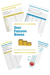 Debt Freedom Binder