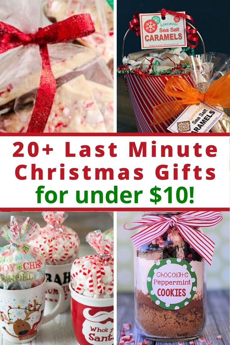 20 Last Minute Christmas Gifts For Under 10 Families For Financial Freedom