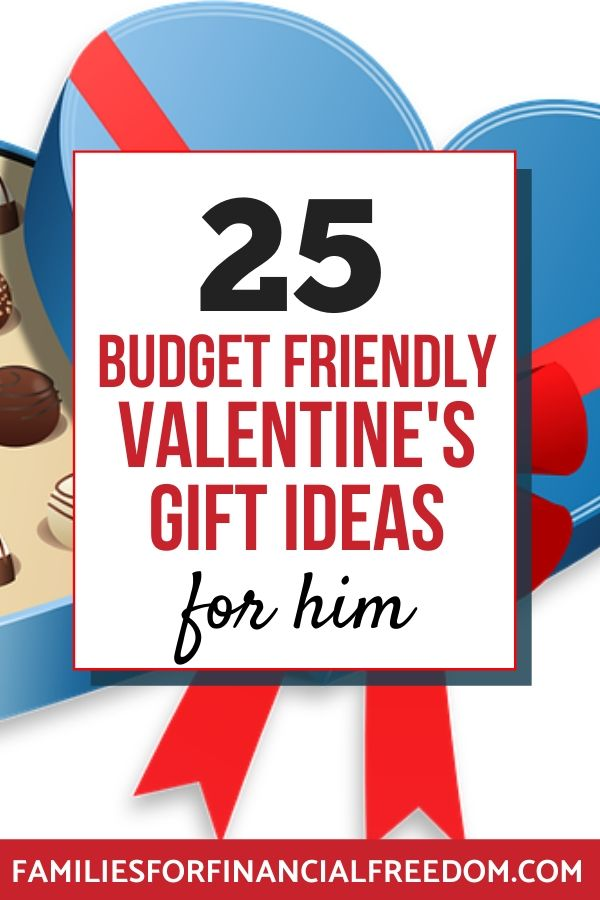 ideas for Valentine's gifts for him