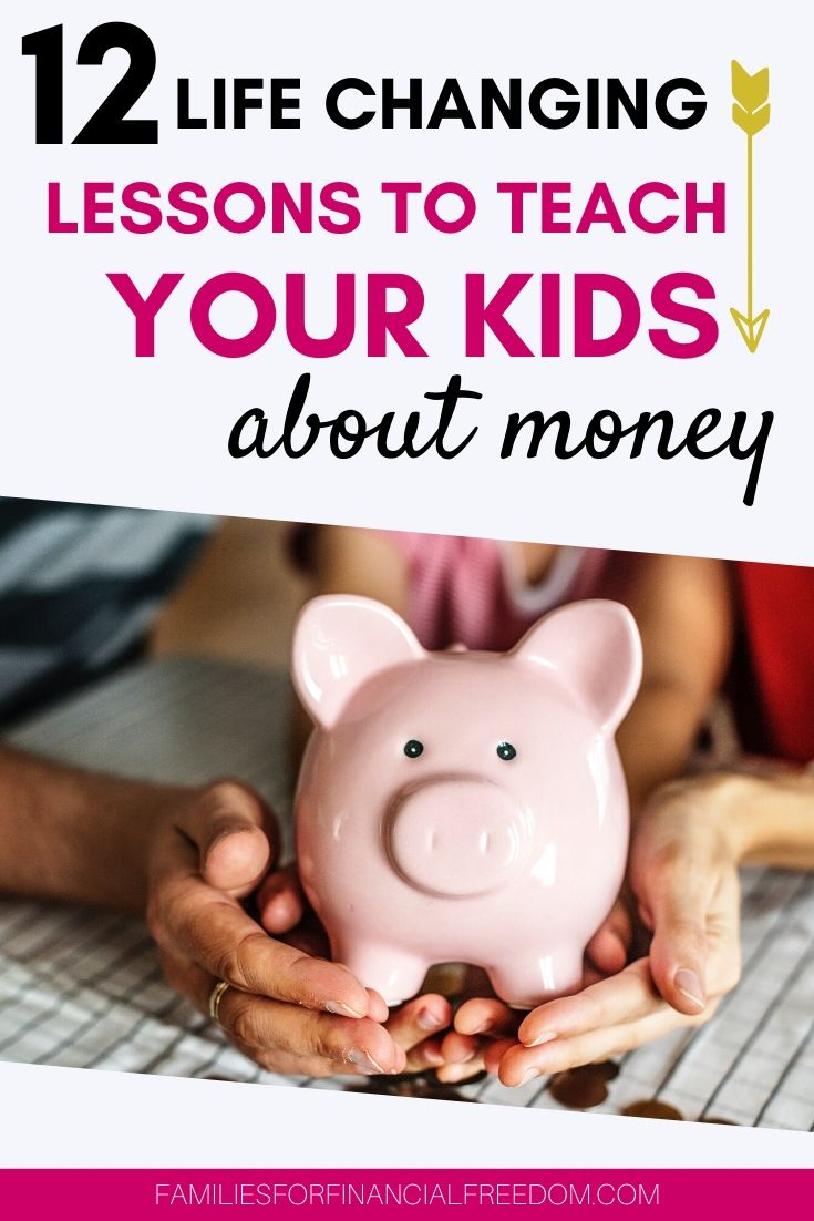 how to teach kids about money