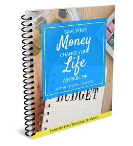 Save Your Money Change Your Life Workbook