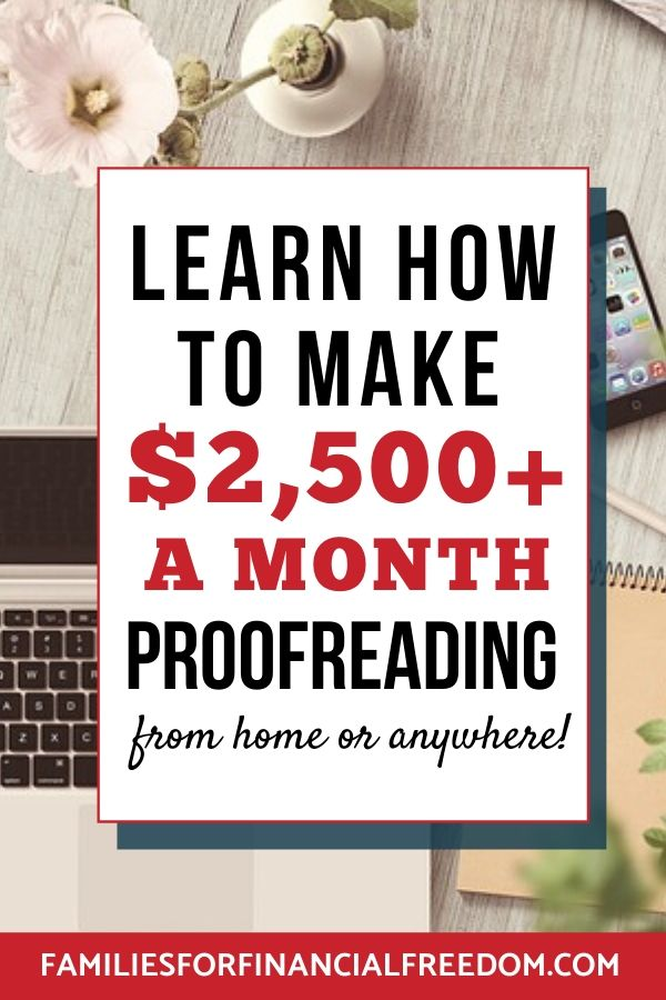 start a proofreading career today with Proofread Anywhere