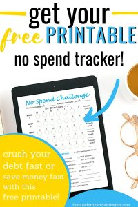no spend tracker
