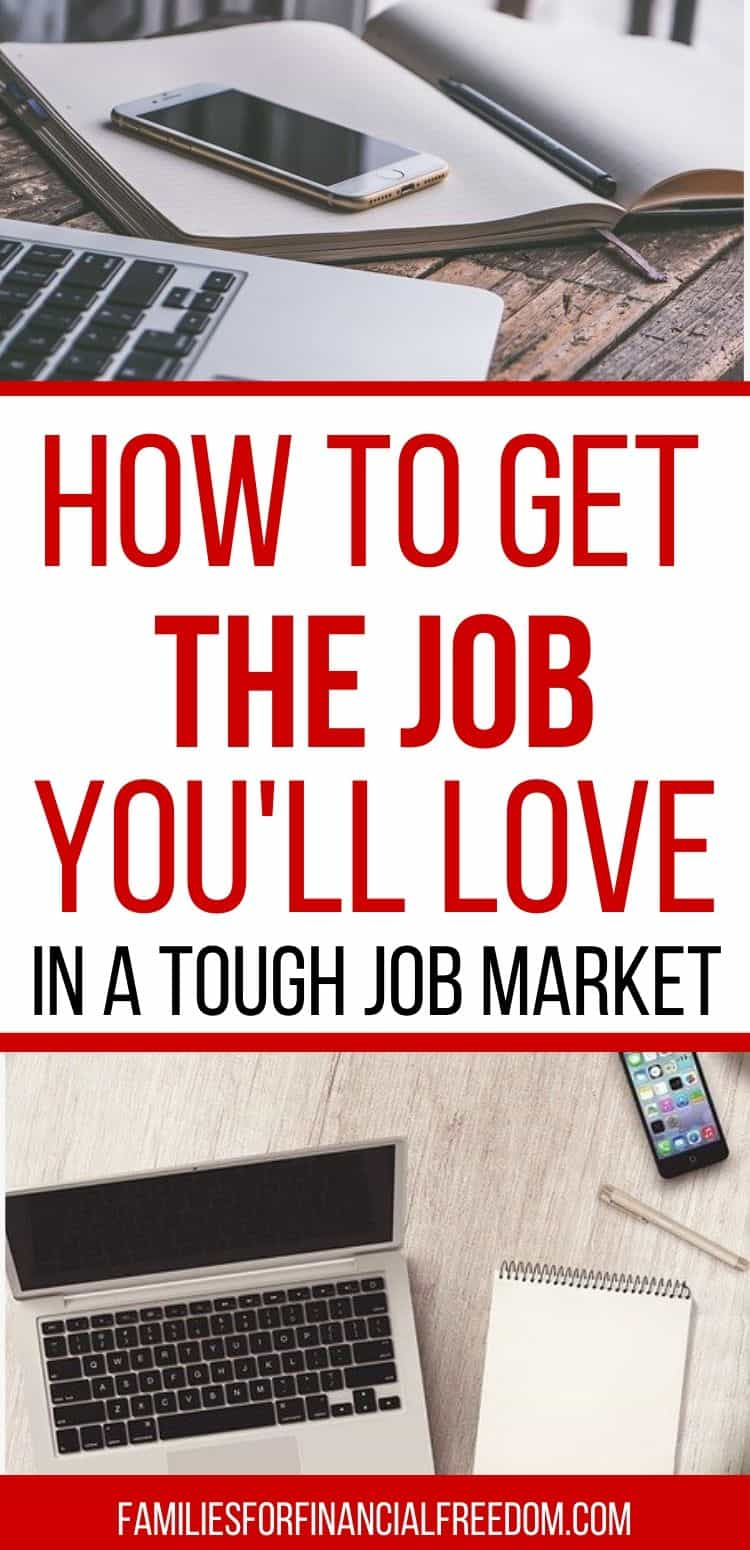 how to get the job you love