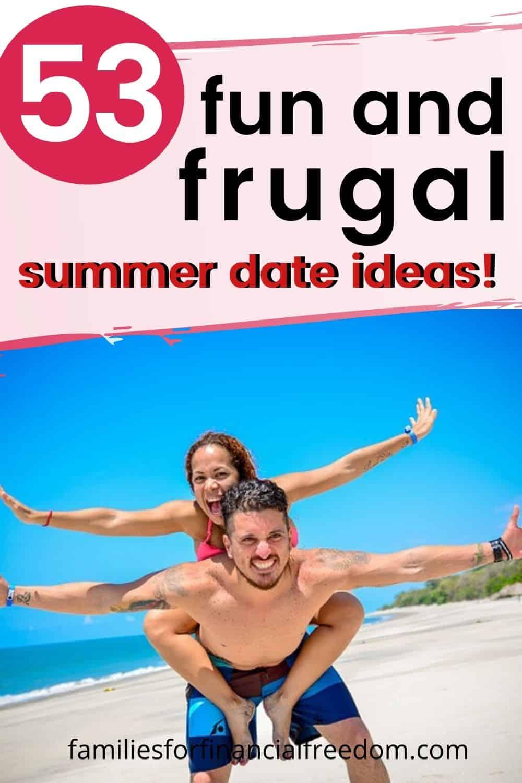 cheap summer date ideas