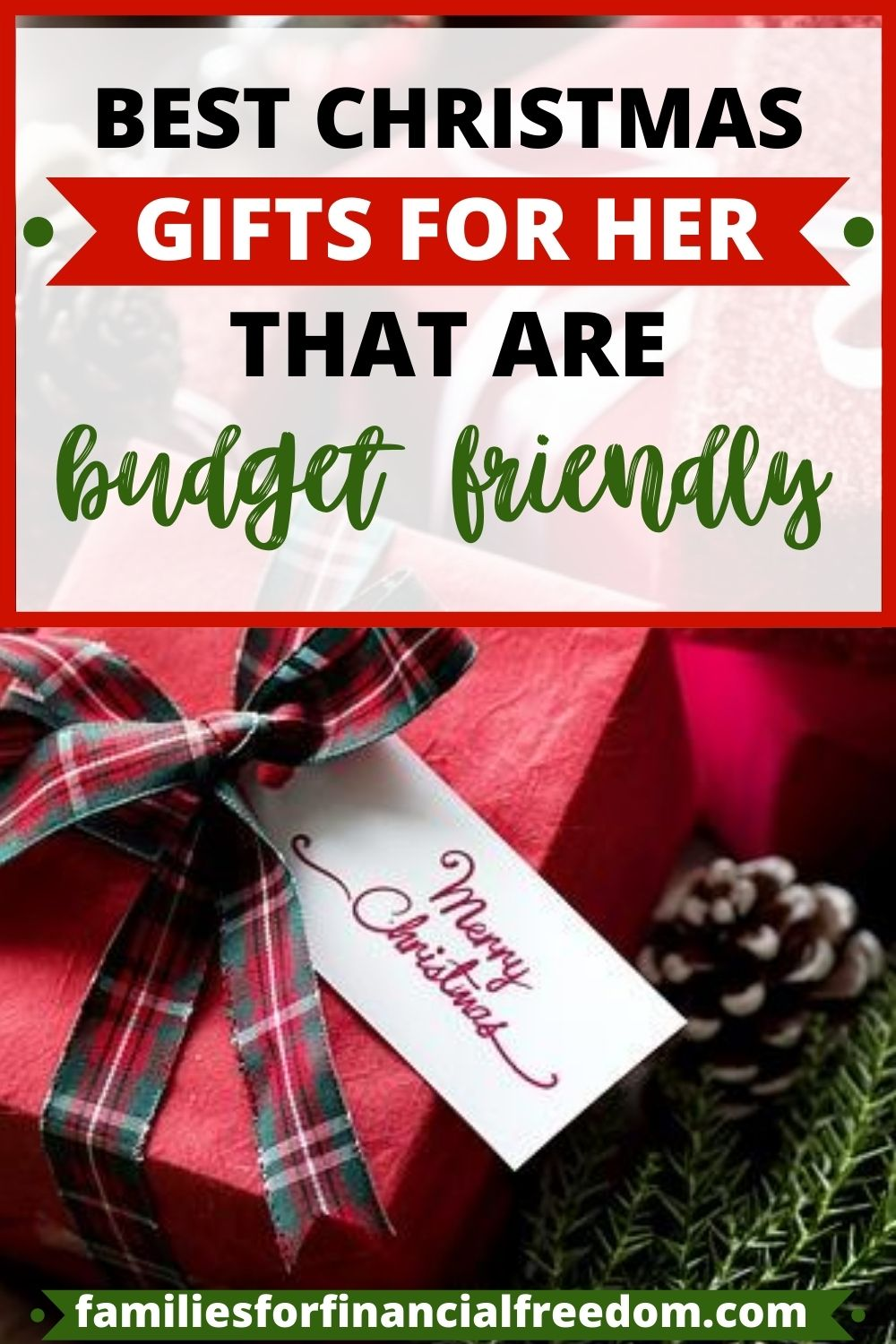 cheap Christmas gifts for her