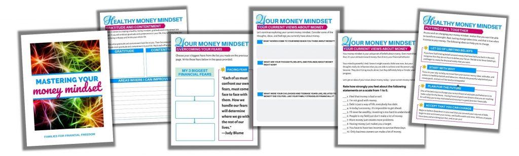 Mastering Your Money Mindset workbook