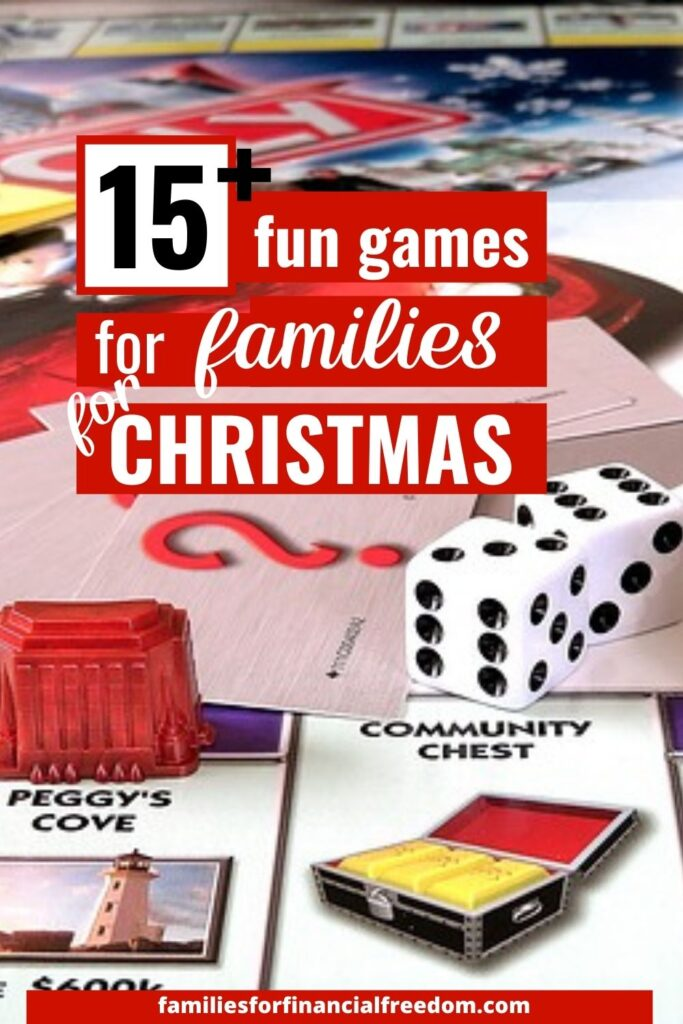 board games for families for Christmas